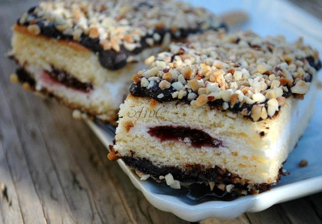 Torta gelato o merenda al cioccolato for Ricette di torte gelato