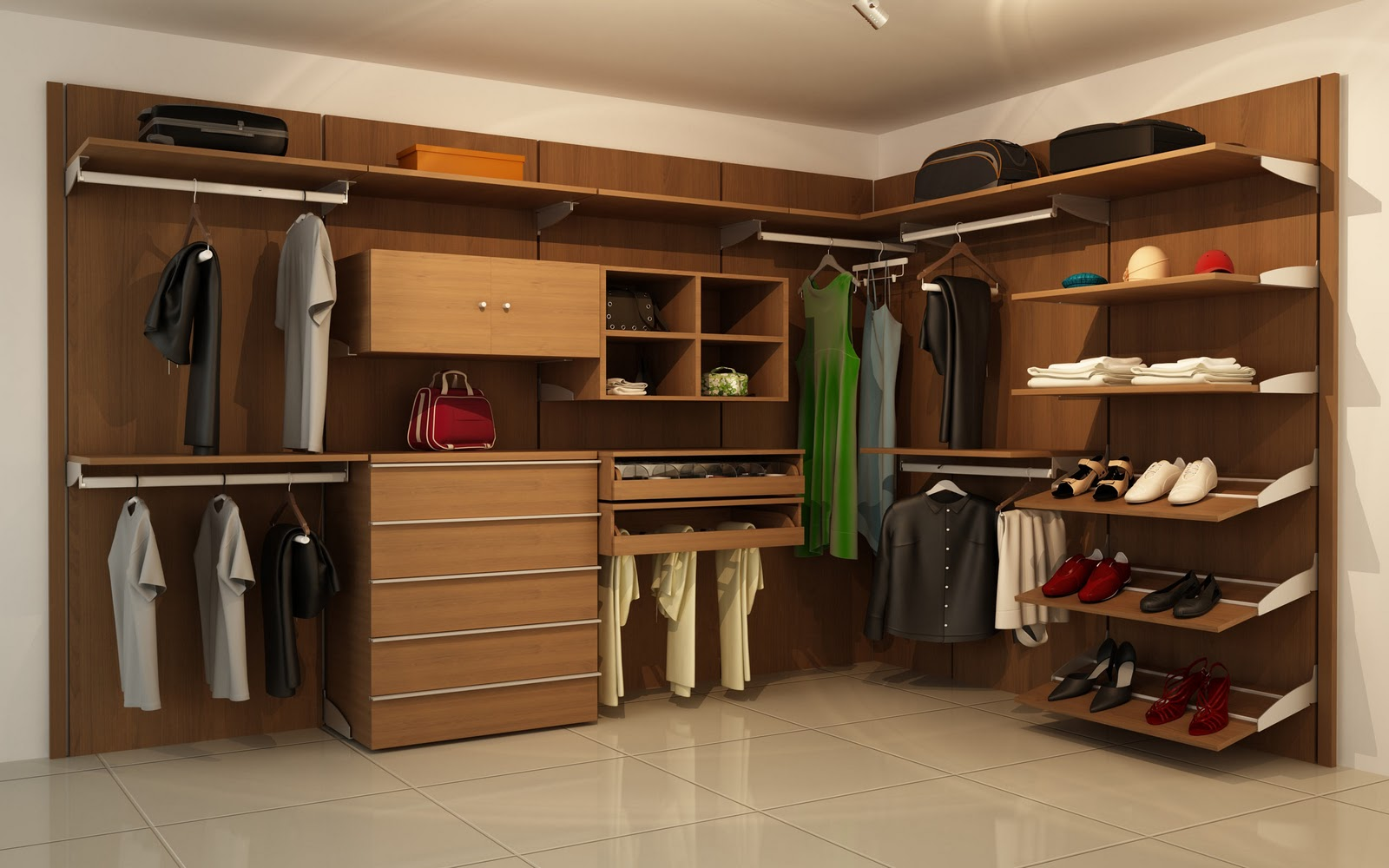 Orbis home closets modulares closets linea trendy for Closet modernos para dormitorios matrimoniales