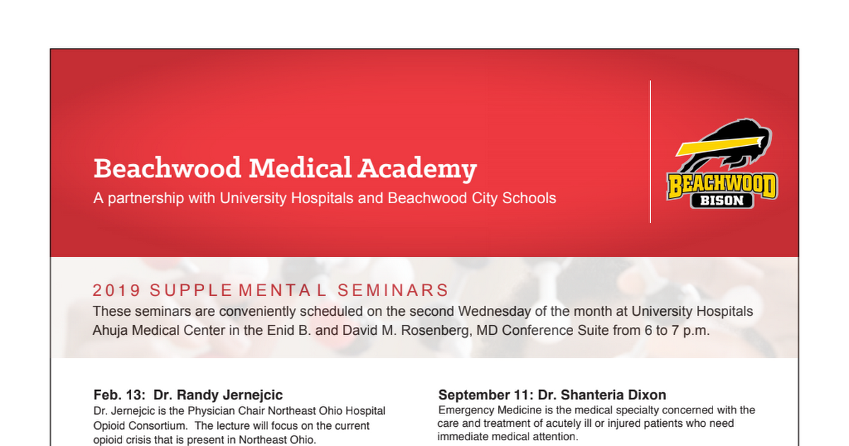 Beachwood Medical Academy Seminars pdf - Google Drive