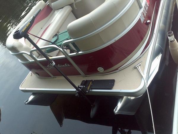Trolling motor question page 2 pontoon boat deck for Trolling motor for 18 foot boat