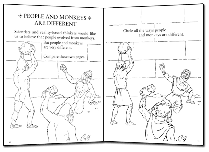 It Has Recently Been Revealed That No One Can Obtain Their Eternal Reward Without First Obtaining A Copy Of The Intelligent Design Coloring Book