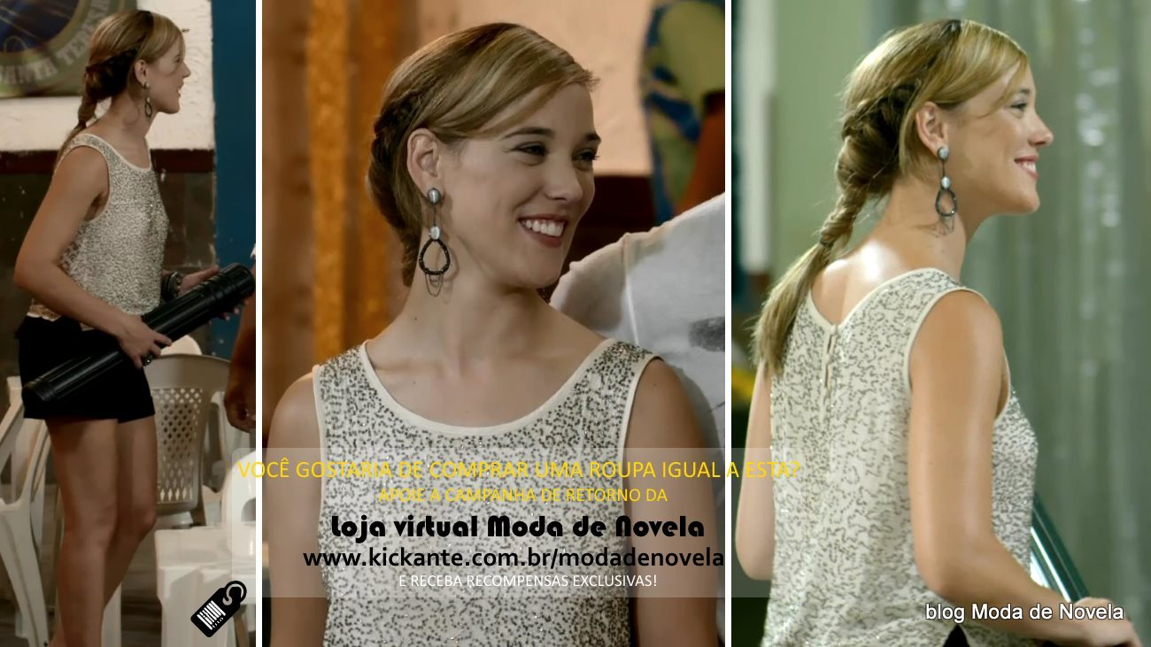 moda da novela Império, look da Amanda dia 23 de janeiro de 2015
