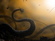 dragons leviathan fantasy art 1024x768 wallpaper