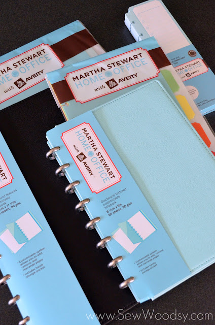 product review giveaway martha stewart discbound notebooks sew