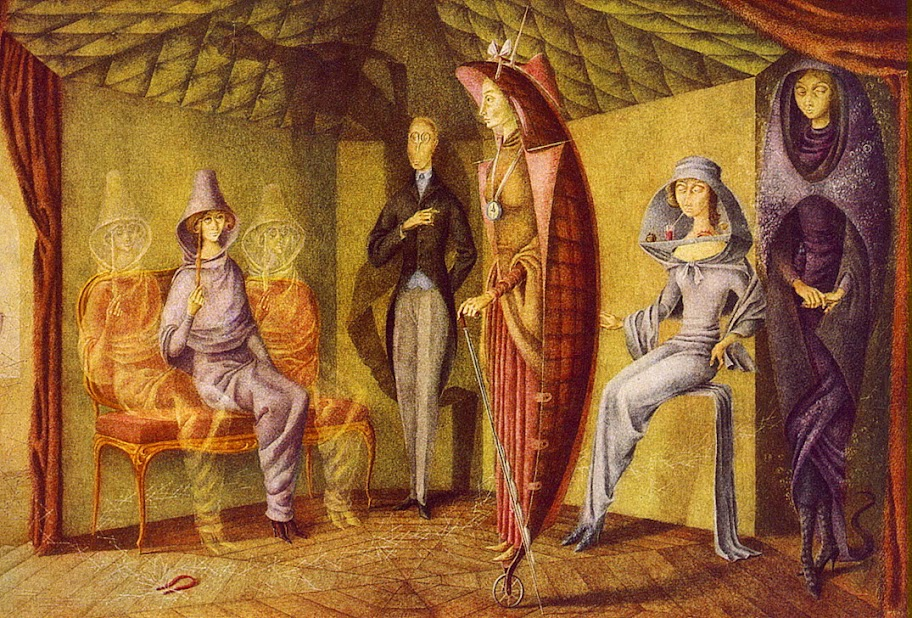 Remedios Varo - Ladies' Suit, 1957