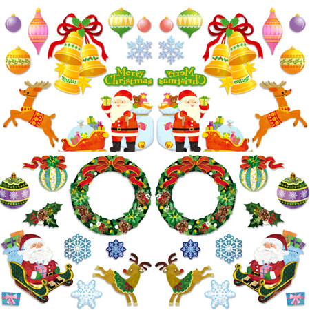 2011 Christmas Wall Decoration Papercraft