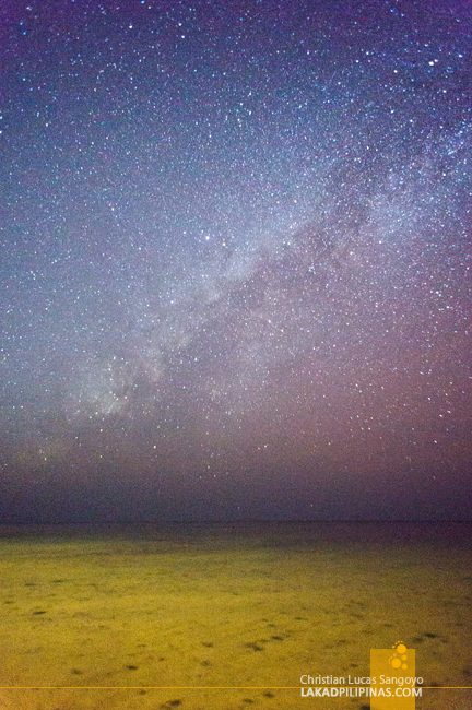 The Milky Way at Bolinao's Puerto del Sol