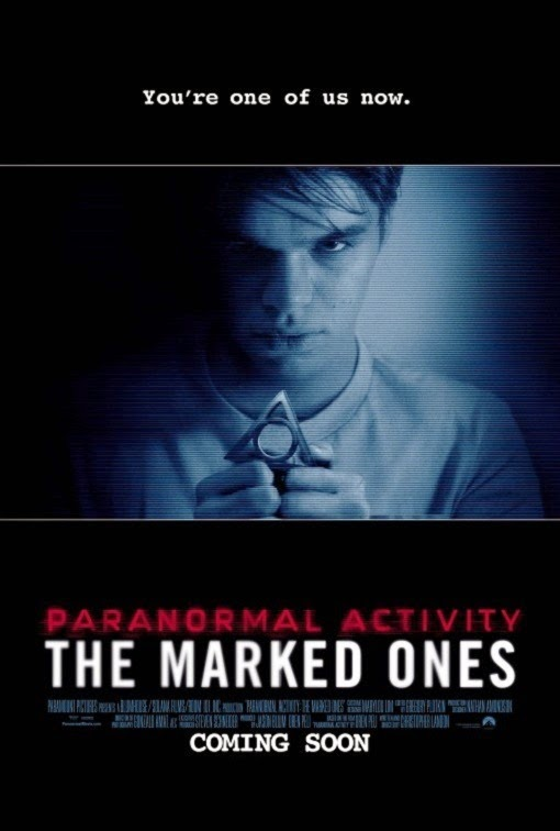 Poster Of English Movie Paranormal Activity: The Marked Ones (2014) Free Download Full New Hollywood Movie Watch Online At Alldownloads4u.Com