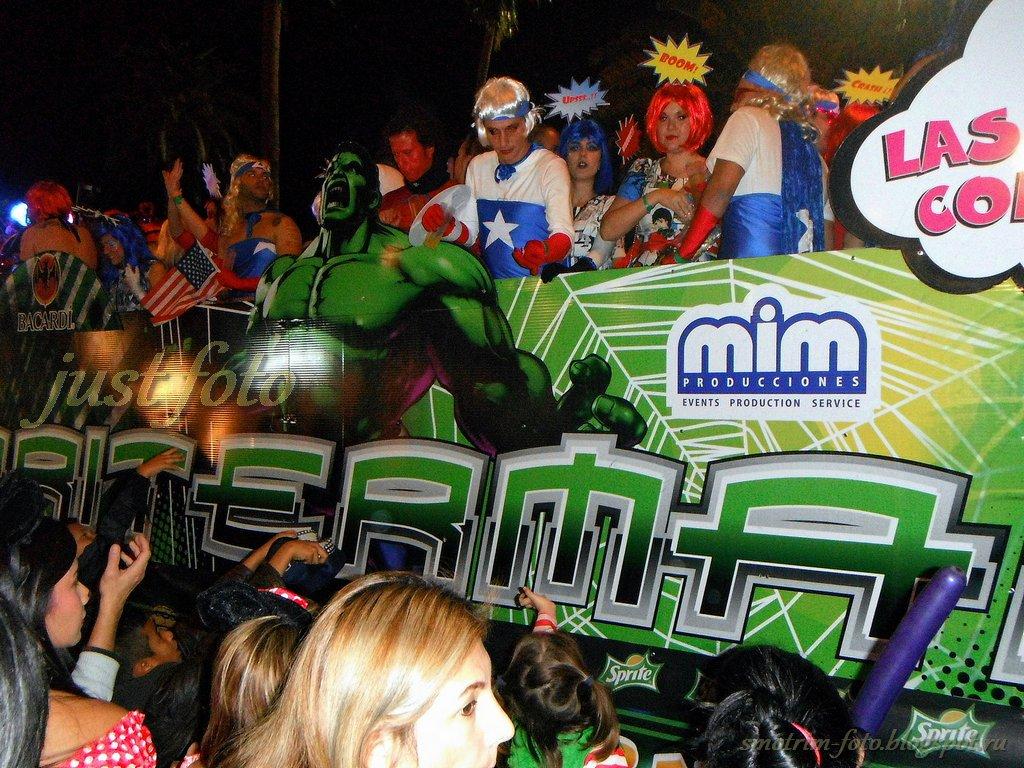 Фестиваль Cabalgata Гран Канария фото