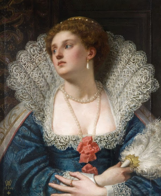 William Frederick Yeames - Amy Robsart