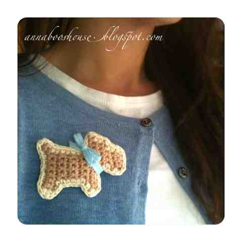 Annaboos House Crochet Your Very Own Scottie Dog Brooch