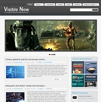 Visible Wordpress Theme