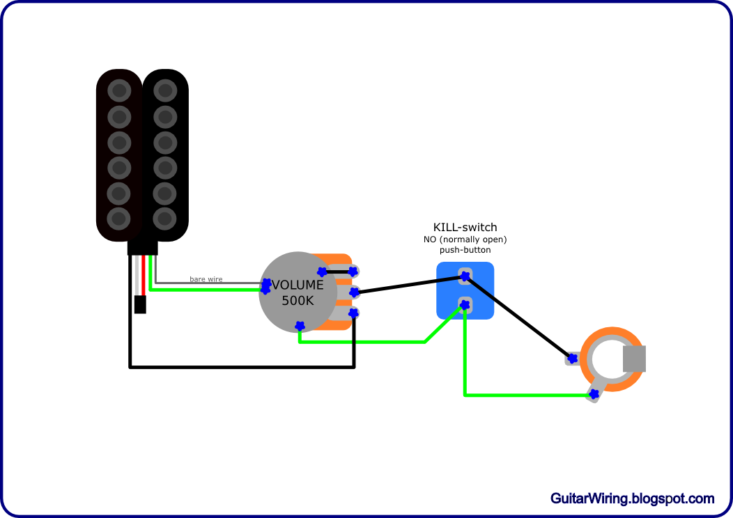 the guitar wiring blog diagrams and tips terminator s guitar wiring this is the guitar wiring diagram