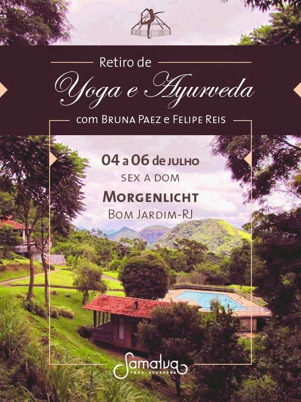 Retiro de Yoga e Ayurveda no Morgenlicht de 4 a 6 de julho