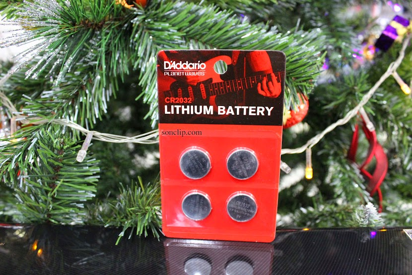 Lithium Battery - D'Addario CR-2032