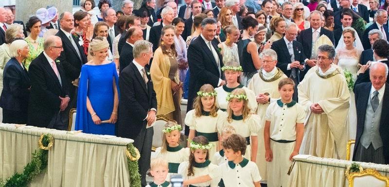 Principele Nicolae a participat la nunta Principelui Amedeo al Belgiei
