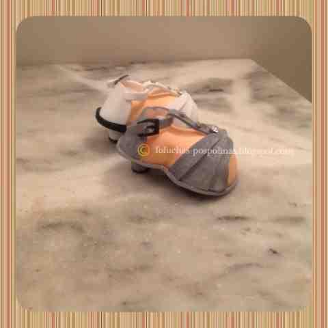 fofuchas-pospolinas: zapato de tacon, sandalia para fofucha