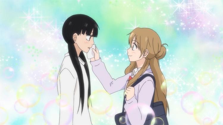 Kimi ni Todoke Kurumi Sawako friends yuri goggles