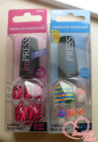 Impress Press On Manicure Review Beautifully Sweet