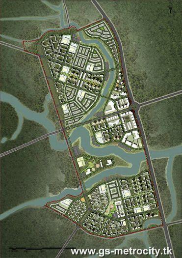 Metro City – Khu đô thị GS Metro City, Nam Sài Gòn, Nhà Bè