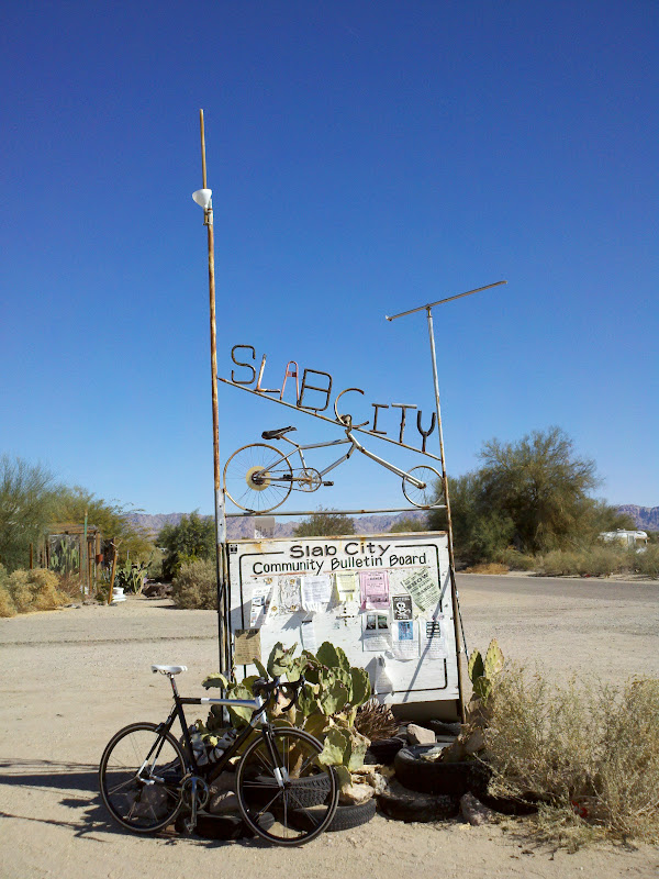 Salton Sea Circumnavigation • Slab City