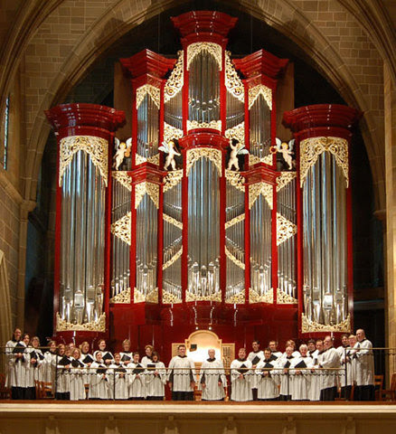 Choir and Organ of St. Joseph Cathedral, Columbus, OH