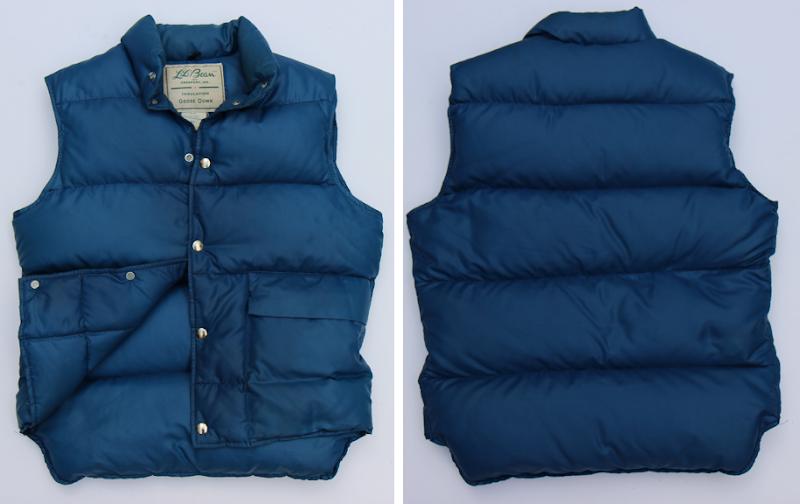 Vests vintage down