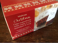Waitrose Christmas Cake making kit