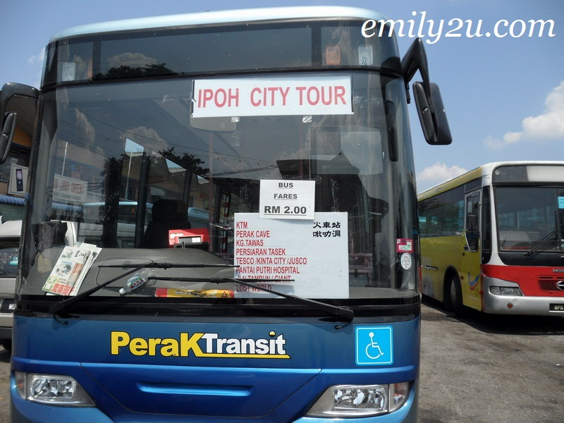 Ipoh City Tour On Bus