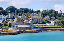 Royal Yacht Squadron- Cowes, Isle of Wight, England- sailing center of the Solent