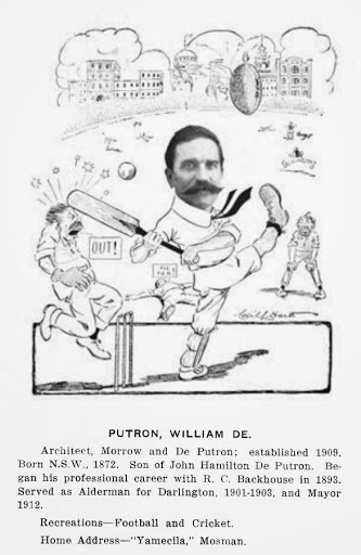 William de Putron, from Sydneyites as we see them