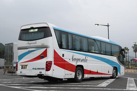長崎自動車「オランダ号」 ・532 リア