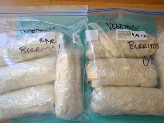 rolled burritos