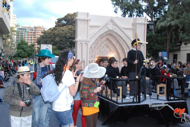 Duque de Gaeta gran triunfadora de la Cabalgata del Ninot 2012