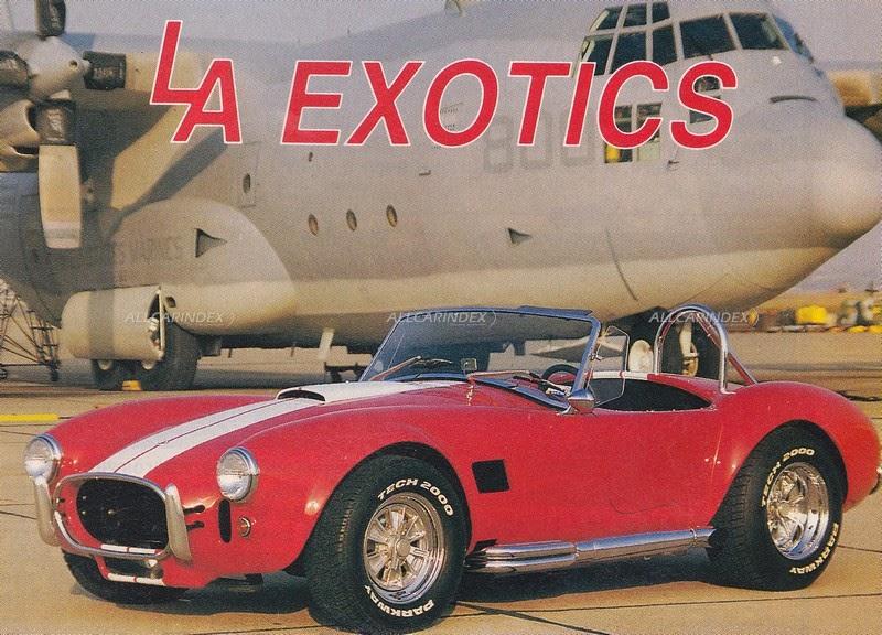 LA Exotics; LAE Manufacturing