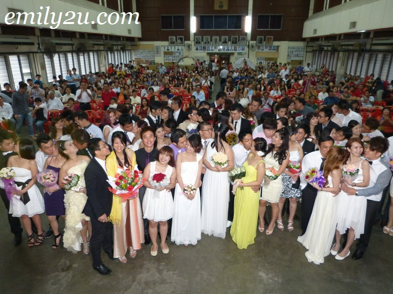 Valentine's Day Mass Wedding