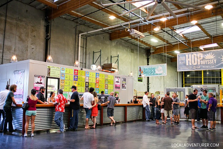 Green Flash Brewing Company (Ultimate San Diego Bucket List).