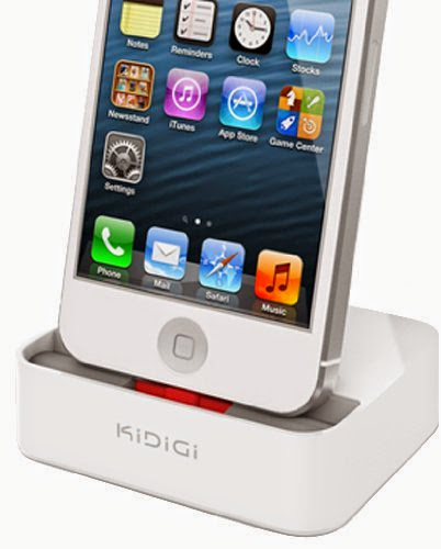 KiDiGi CASE/COVER-MATE WHITE CHARGER CRADLE DOCK STATION FOR iPOD TOUCH 5th GEN