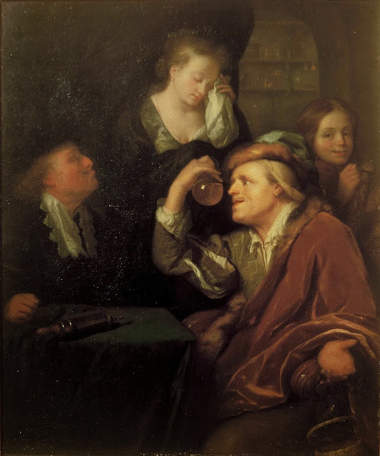 Godfried Schalcken - The medical examination