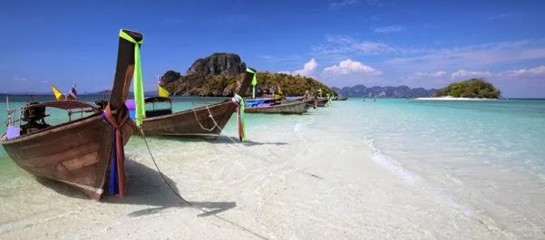 Férias na Tailândia