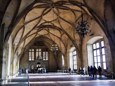 Sala de Vladislav del Palacio Real Antiguo de Praga