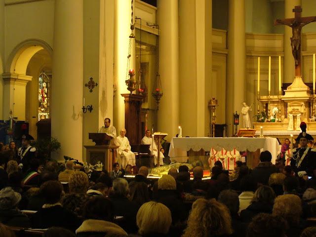 Santa Messa con le reliquie di San Giovanni Bosco