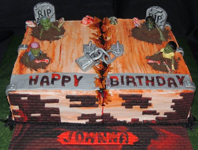 50 Best Zombie Birthday Cakes Ideas And Designs Page 5 Of 5
