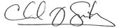 Dr Chad Smith Signature