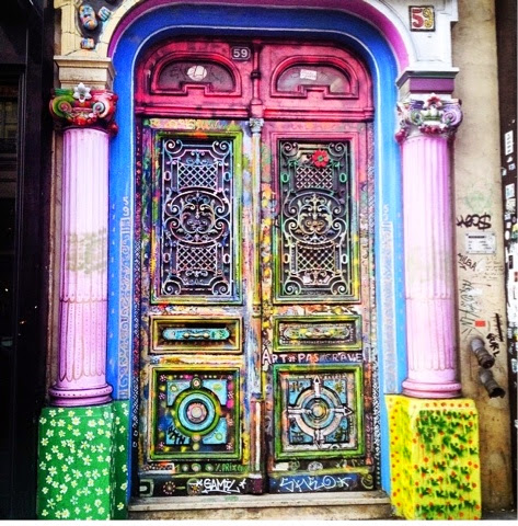 beautifil door, paris