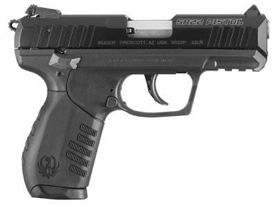 Ruger's new .22 calibre SR22 pistol