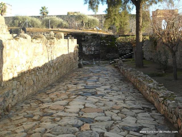 Alcazaba, Forte, Castelo de Mérida, Estremadura, Espanha