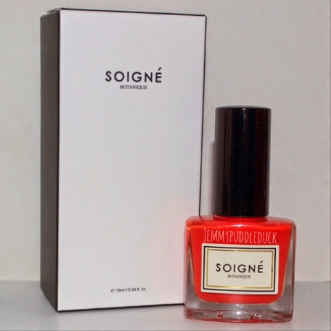 Soingé nail lacquer polish varnish birchbox may 2014