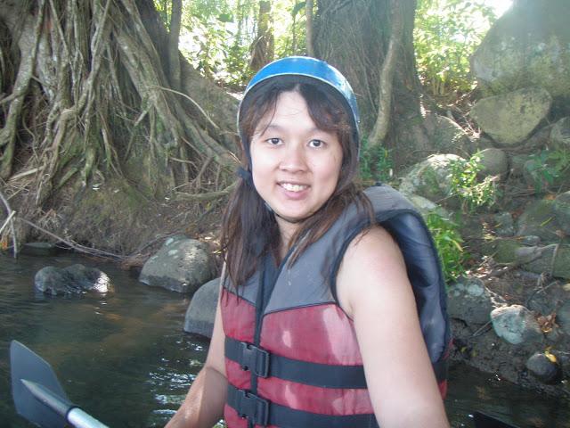 White water rafting in Cebu, Philippines in 2009