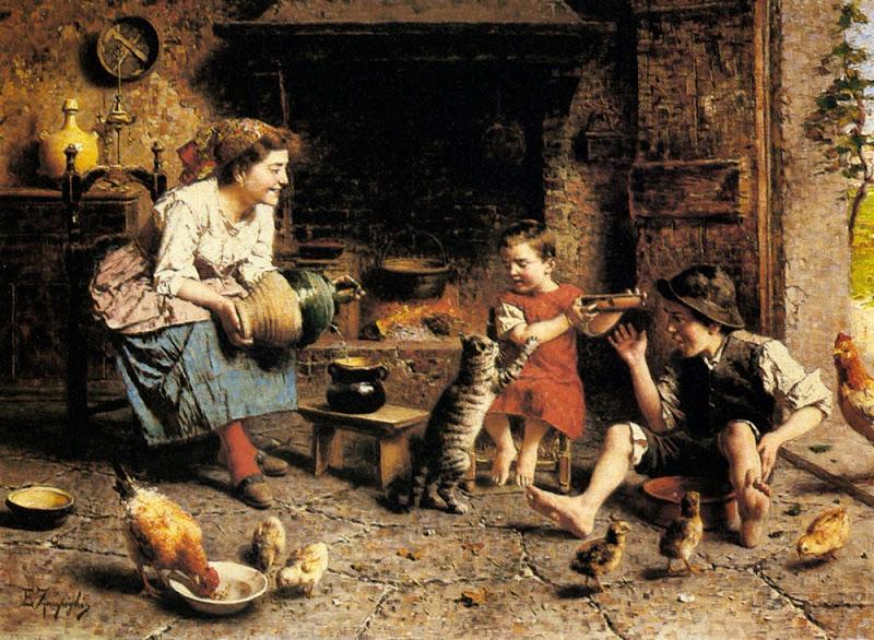 Eugenio Zampighi - Mealtime
